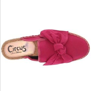 Circus by Sam Edelman hot pink mules